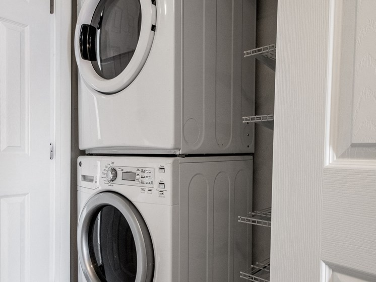 Washer and Dryer-Cedars at Carver Park Galveston, TX