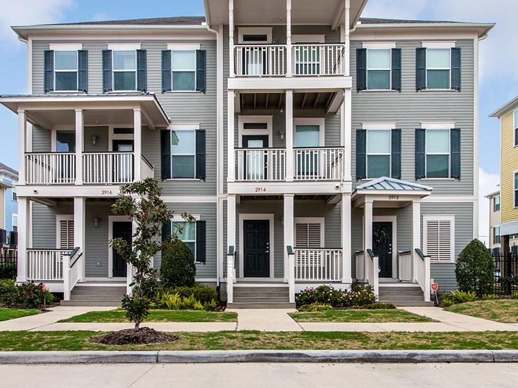 Townhouses exterior-Cedars at Carver Park Galveston, TX