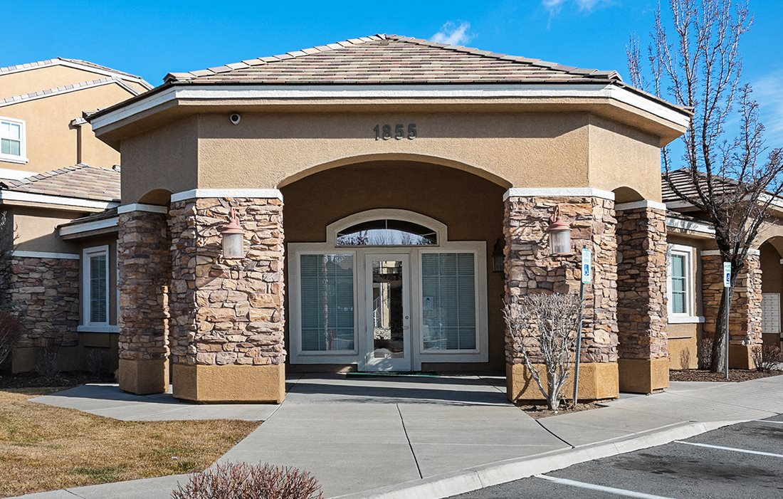 Clubhouse exterior-Whittell Pointe, Reno, NV