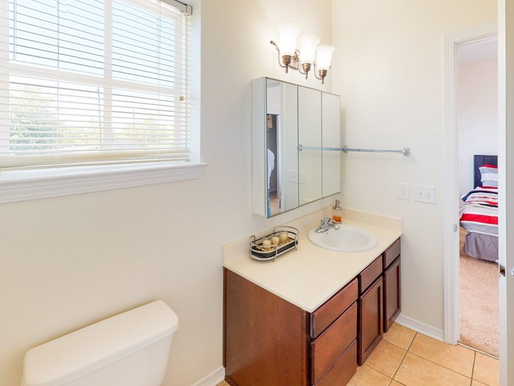 Apartment bathroom-Marrero Commons, New Orleans, LA