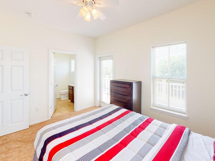 Apartment bedroom-Marrero Commons, New Orleans, LA