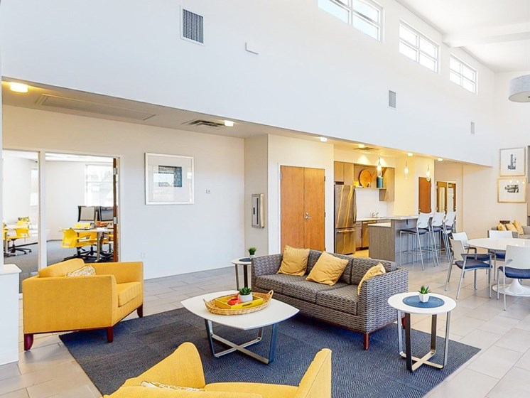 Clubhouse lobby and lounge area-Marrero Commons, New Orleans, LA