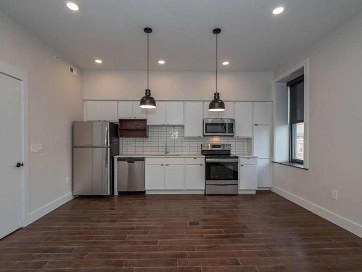 apartment kitchen area_Columbia Flats Apartments, Cincinnati, OH