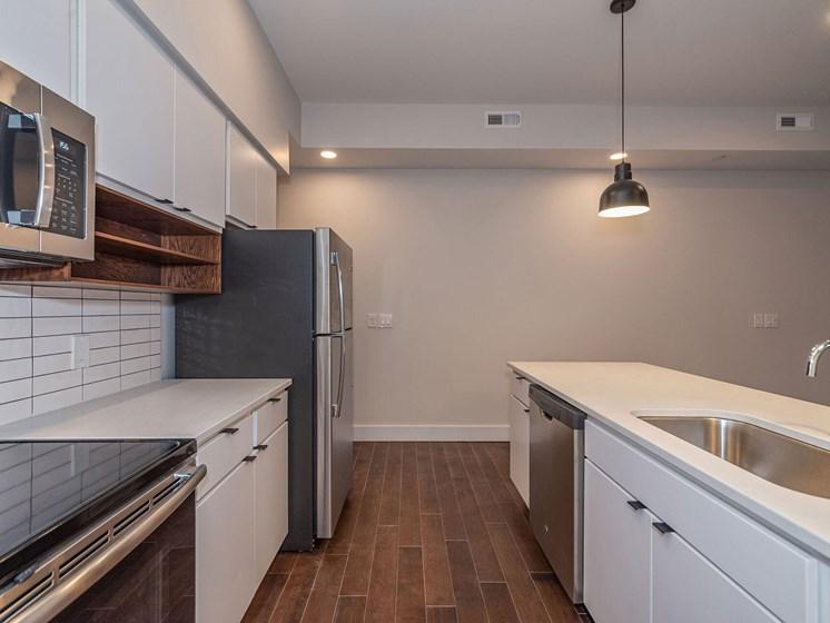 Apartment kitchen-Columbia Flats Apartments Cincinnati, OH