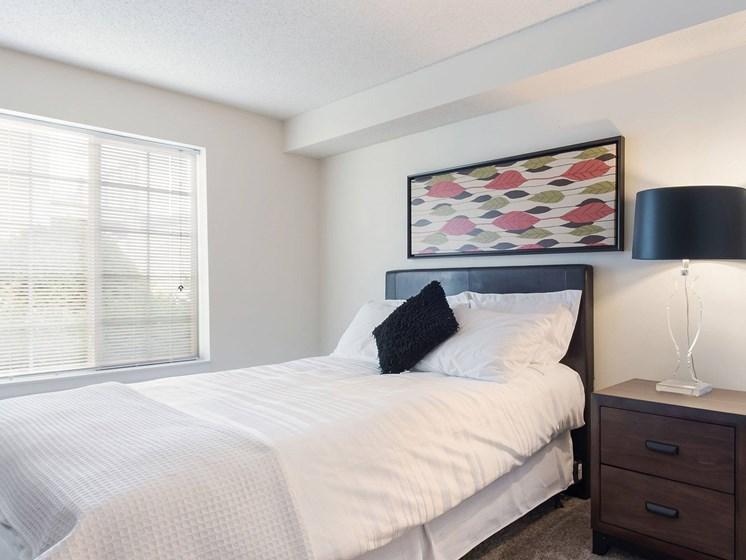 Apartment bedroom-Heritage Park Apartments, Minneapolis, MN