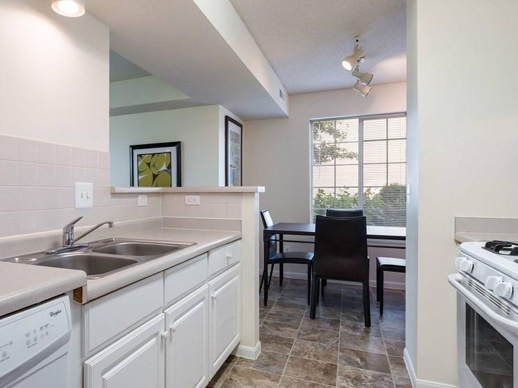 Kitchen area-Heritage Park Apartments, Minneapolis, MN