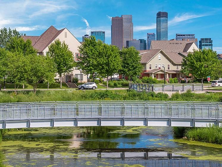 Riverwalk view-Heritage Park Apartments, Minneapolis, MN
