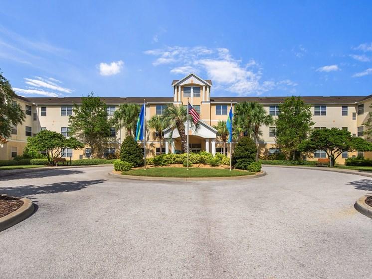 Community front street entrance_Lexington Club at Renaissance Square, Clearwater, FL