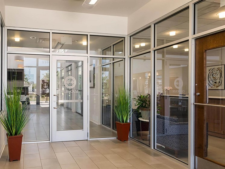 Leasing office front door-Marrero Commons, New Orleans, LA