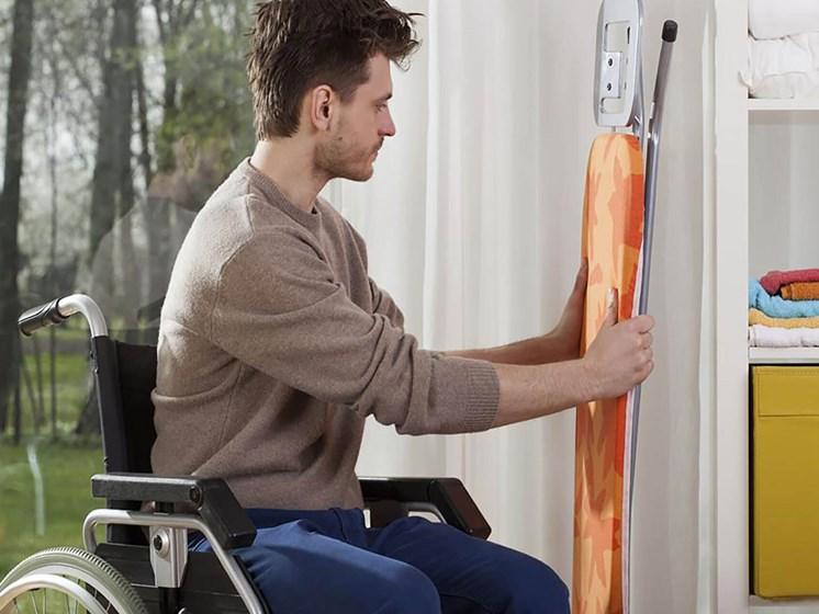 man in a wheelchair_Northpark at Scott Carver Apartments Miami, FL