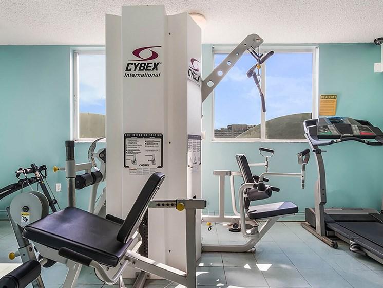 Fitness center-Santa Clara I Apartments, Miami, FL