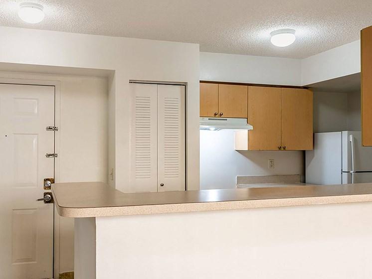 Apartment kitchen-Santa Clara I Apartments, Miami, FL