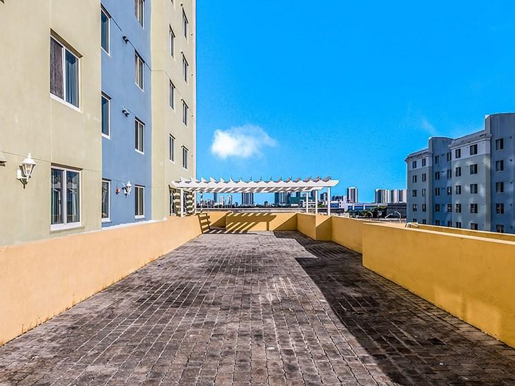 Balcony area-Santa Clara II, Miami, FL