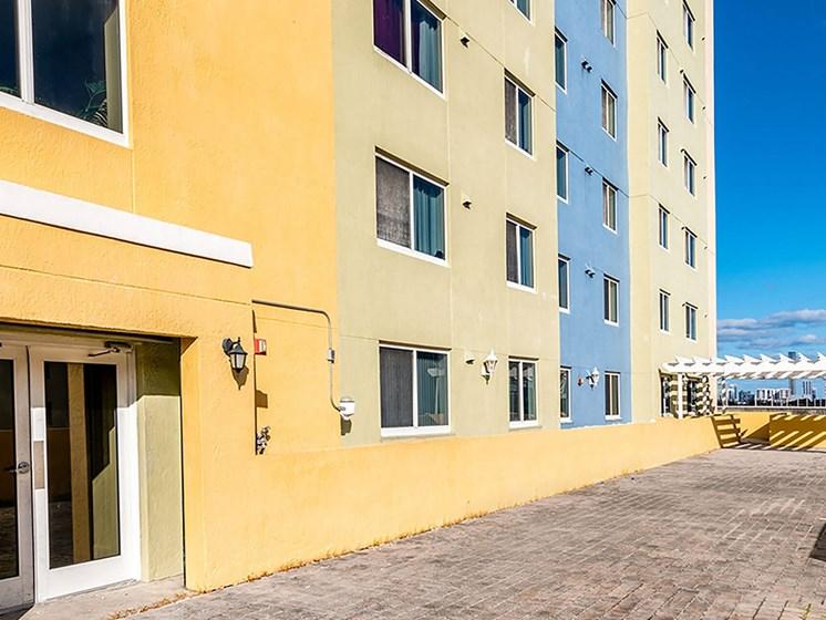 Apartment balcony area-Santa Clara II, Miami, FL