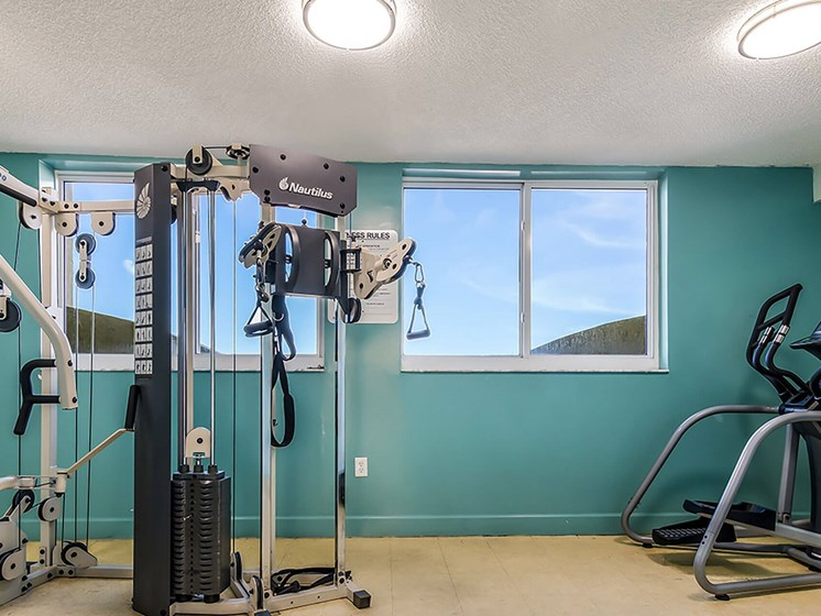 Fitness center exercise machines-Santa Clara II, Miami, FL