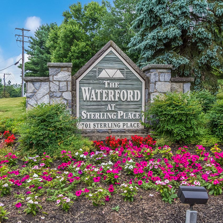 Property signage-Waterford at Sterling Place Lancaster, PA