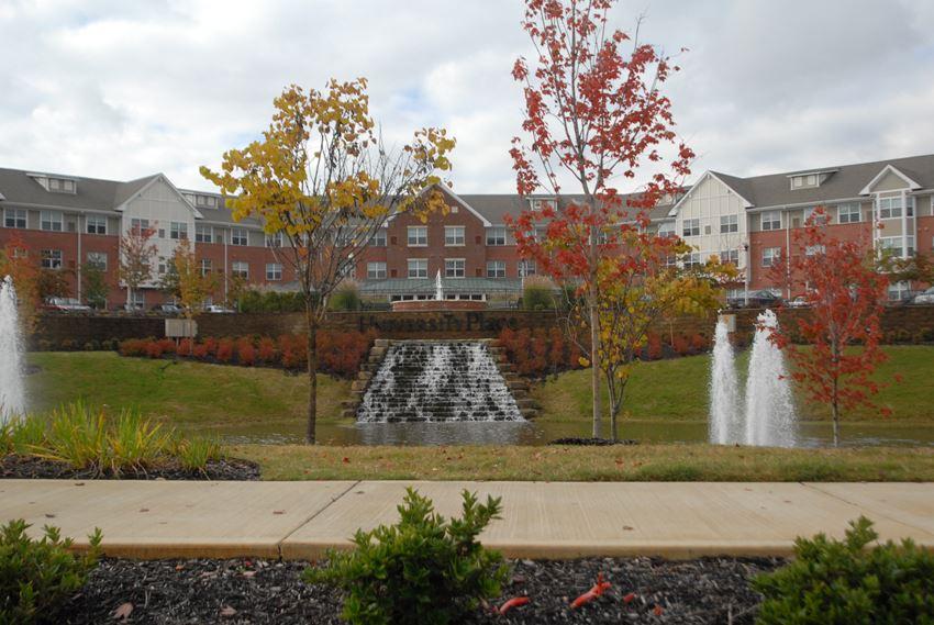 Apartment building exterior-Senior Living at University Place Apartments, Memphis, TN 38104