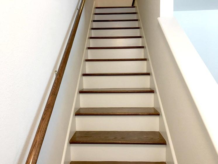 interior apartment stairs-East Meadows San Antonio TX