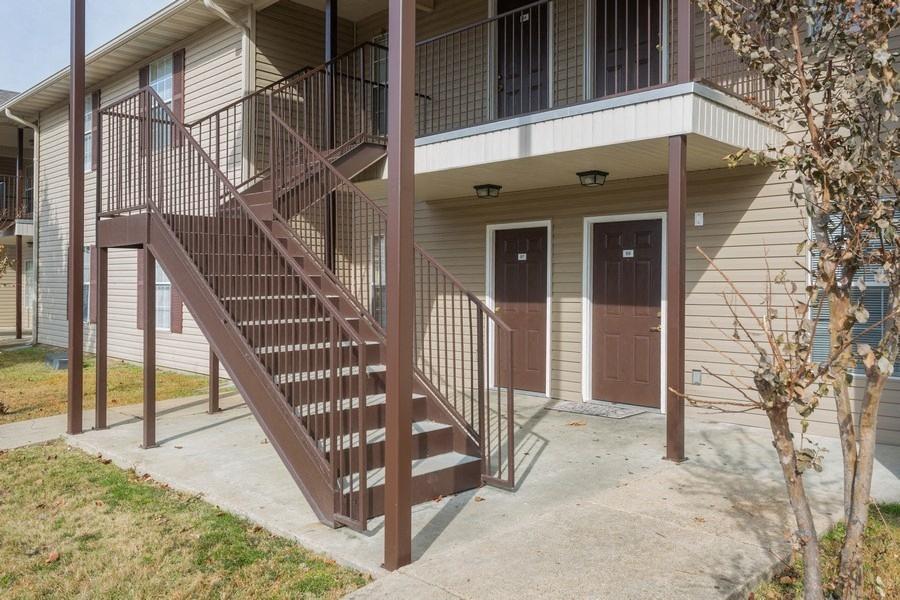 Apartment units exteriors