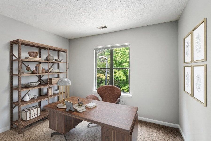Bedroom/Office View