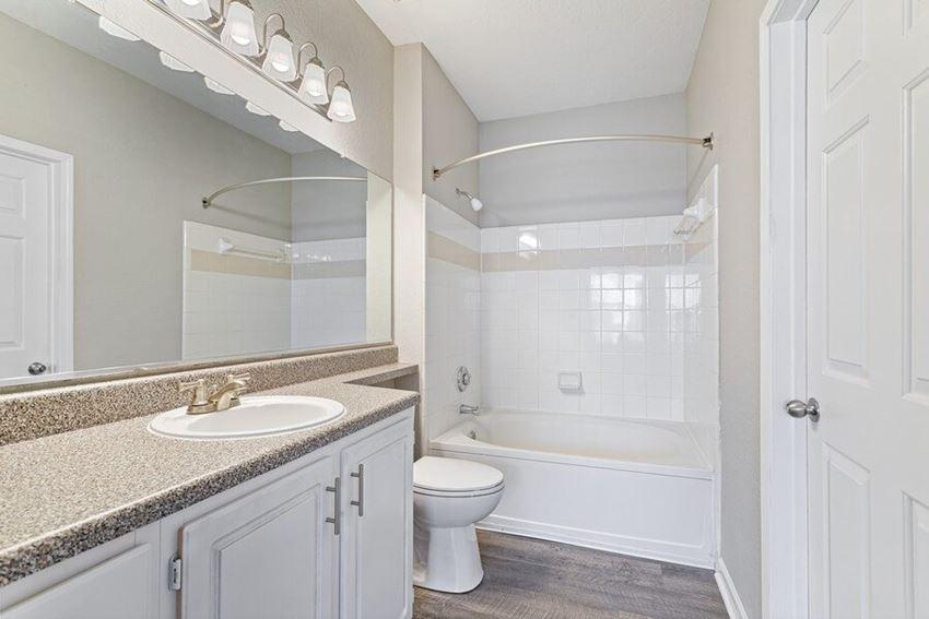 Mdoel bathroom