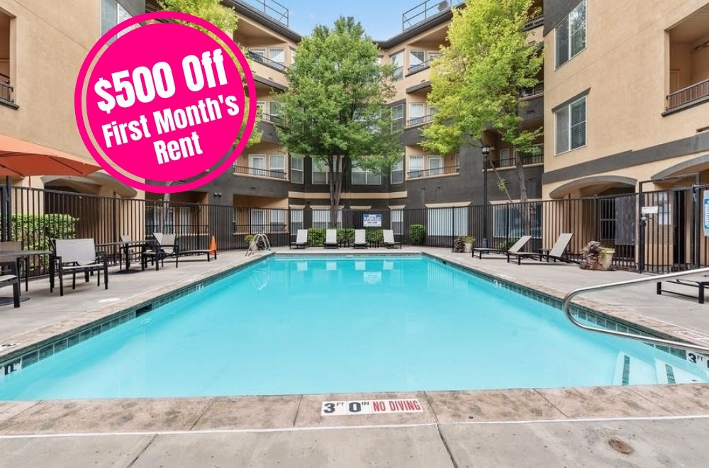 $500 off first month's rent