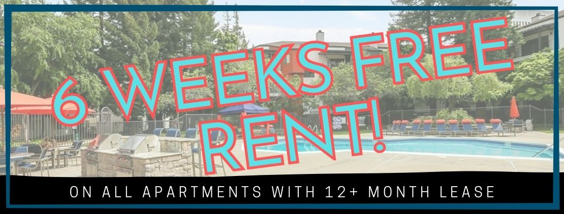 New move-in special 6 weeks free rent advertisement