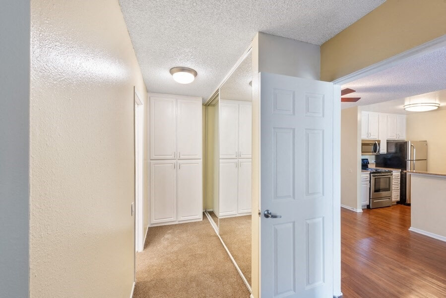 Model Bedroom Hallway