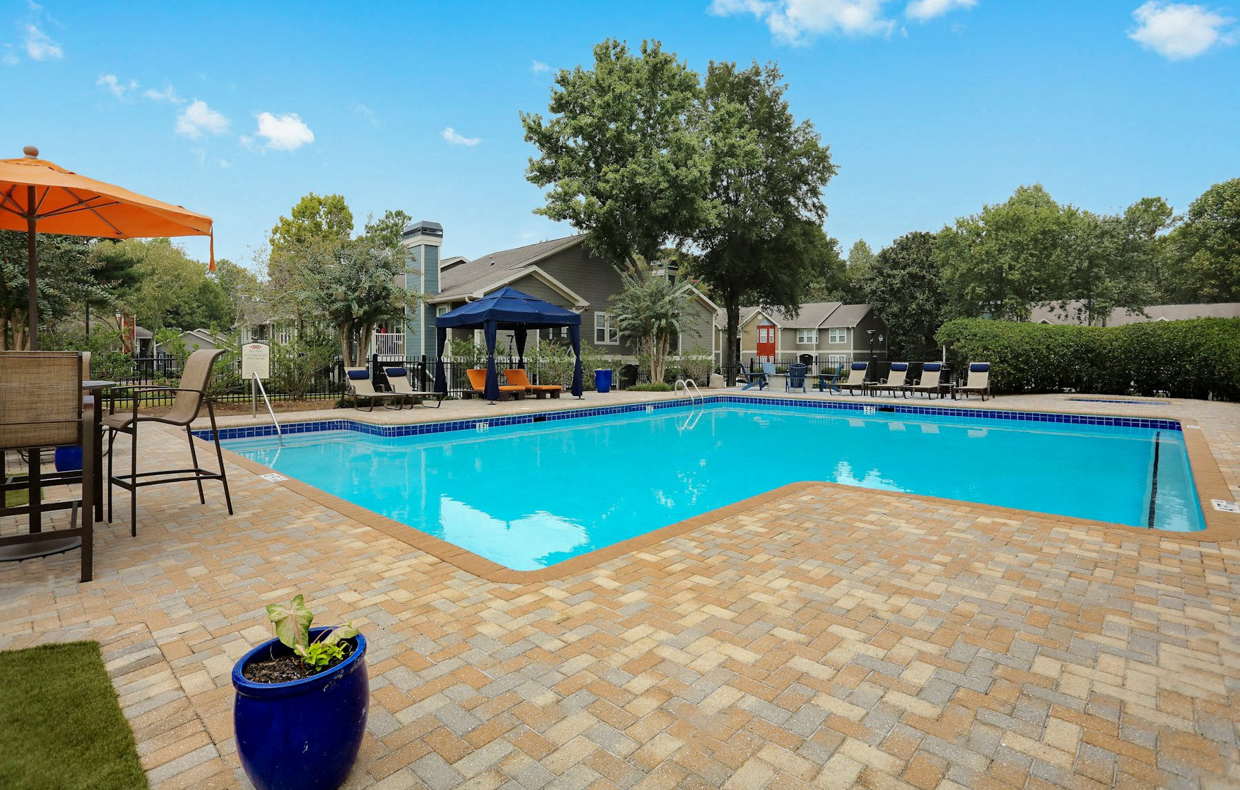 Resort Style Swimming Pool at Laurel Hills Preserve in Marietta, GA
