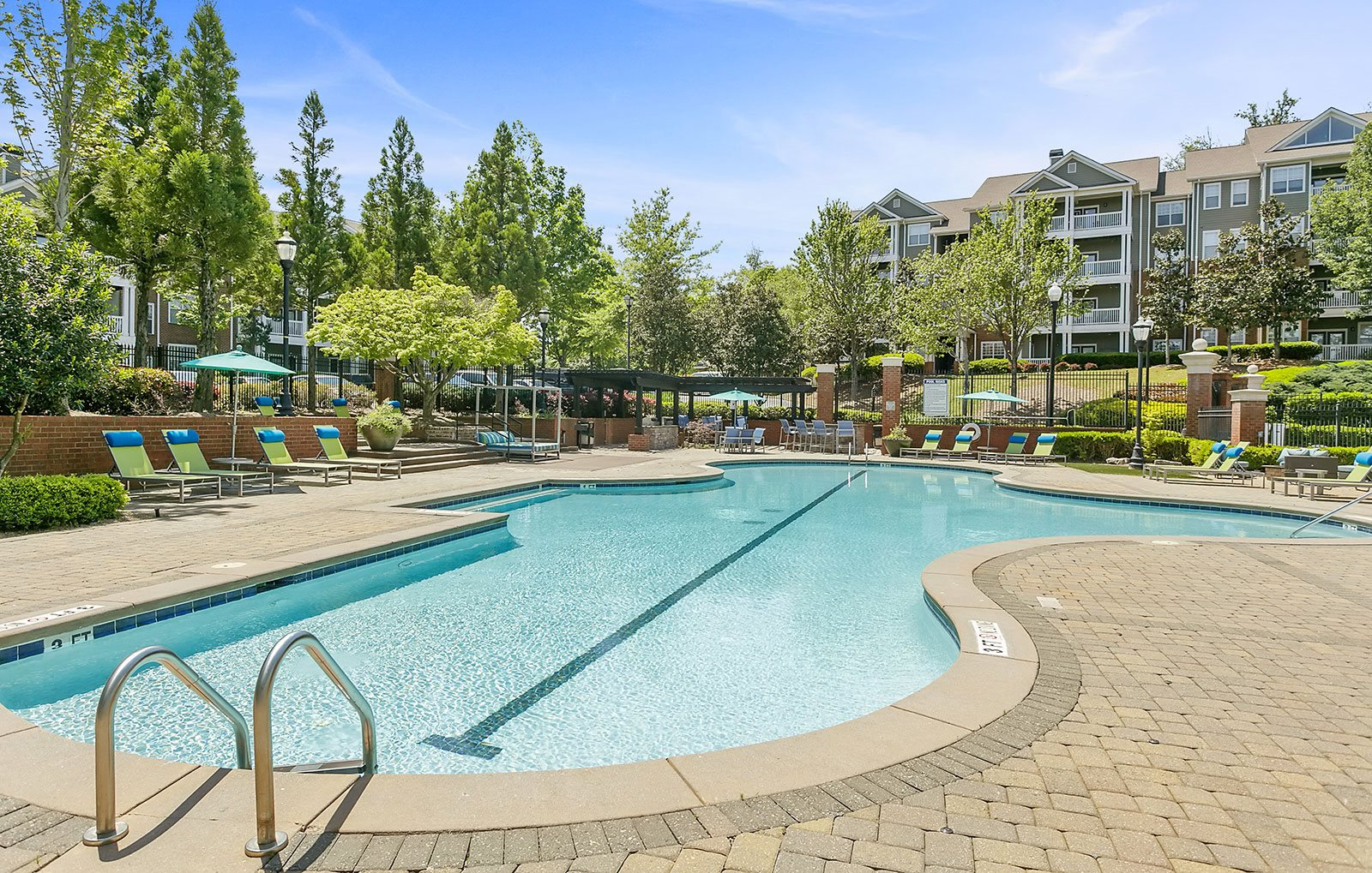 Swimming Pool at Parkside at Towncenter Apartments