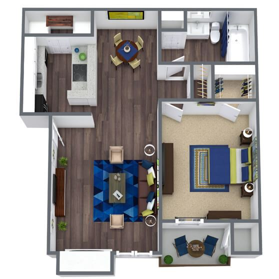 Valley Ridge Floor Plan 1x1