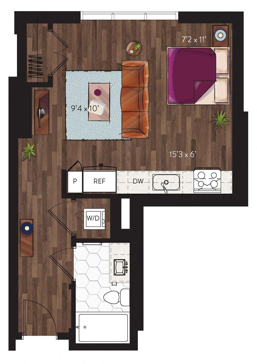 Dallas Studio apartment