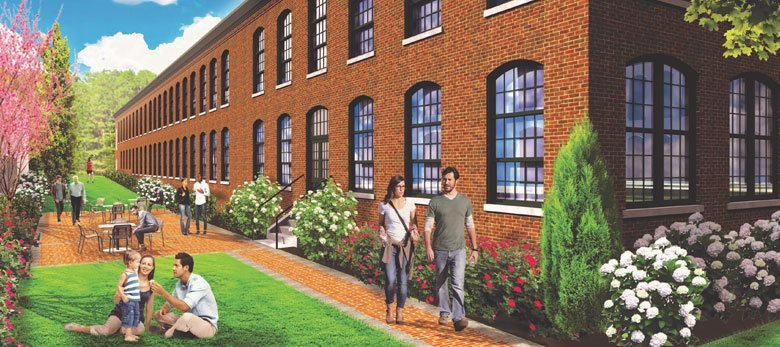 Rendering of Lincoln Lofts