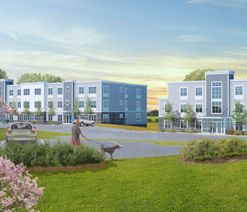 Rendering of Brookside Terrace.