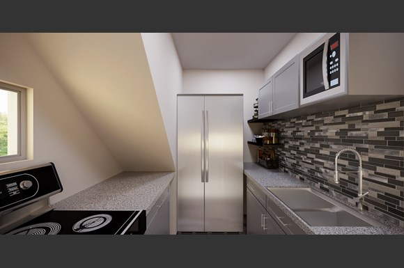 Sample Kitchen Rendering Units 3, 4 5 and 6