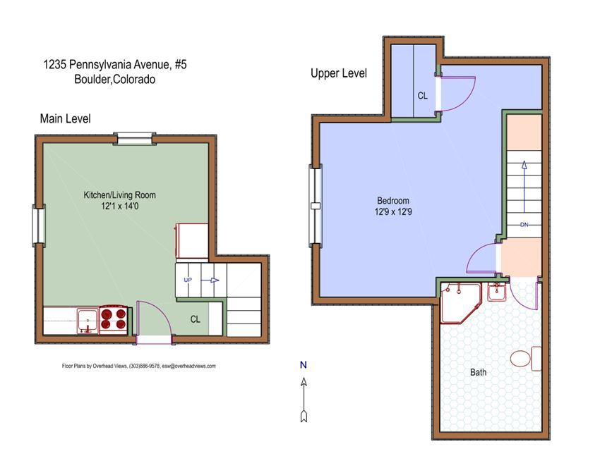 1235 Pennsylvania Ave. #5 Floor Plan