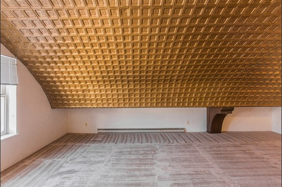 1215 13th Street Studio Gold Ceilings