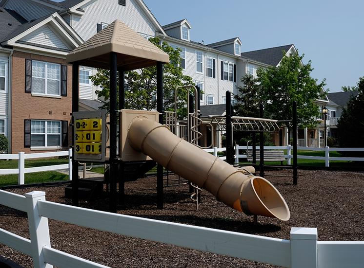 Outdoor children's play area