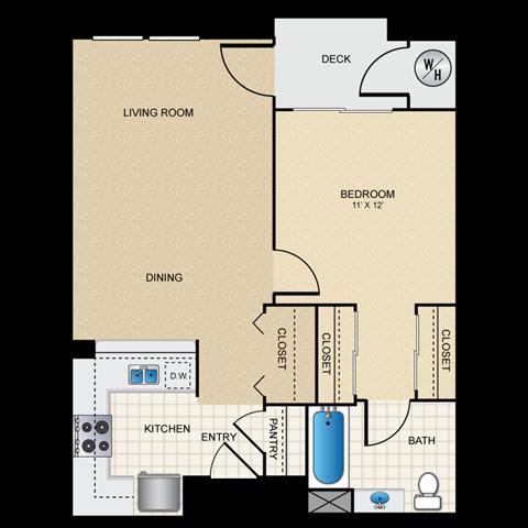 1/1 A floorplan
