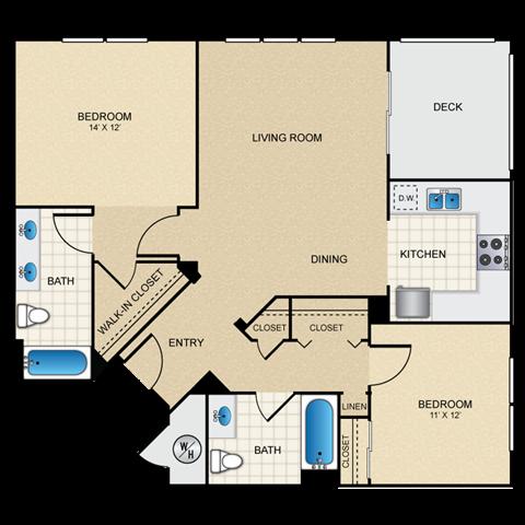 2/2 A floorplan