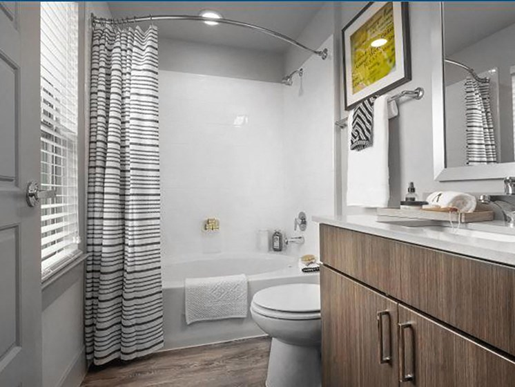 WalkIn Showers and Garden Tubs at Encore at Boulevard One, Denver, CO, 80230