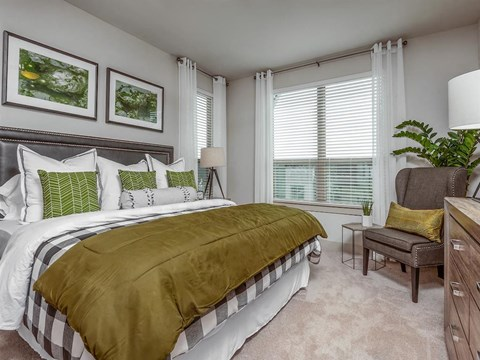 King Size Bedroom at Kelley at Samuels Ave, Texas, 76102