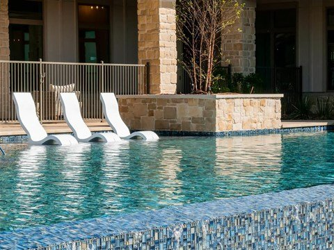 Swimming Pool And Relaxing Area at Kelley at Samuels Ave, Ft Worth, 76102