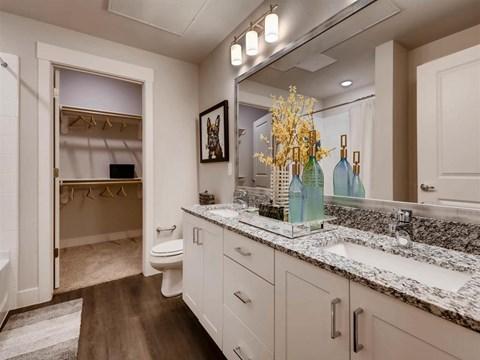 Spacious Bathrooms at Kelley at Samuels Ave, Texas, 76102