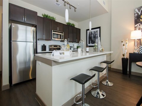Different Kitchen at Kelley at Samuels Ave, Ft Worth, 76102
