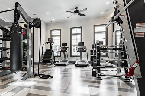 State-Of-The-Art Fitess Center