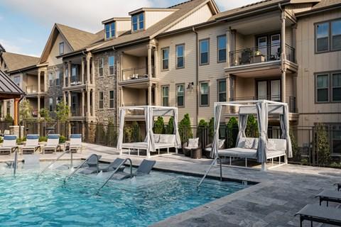 Luxurious Pool Cabanas