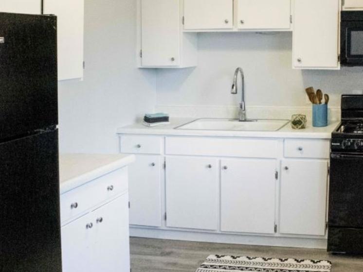 riverview apartment homes kitchen