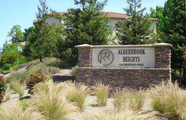 Alderbrook Heights sign