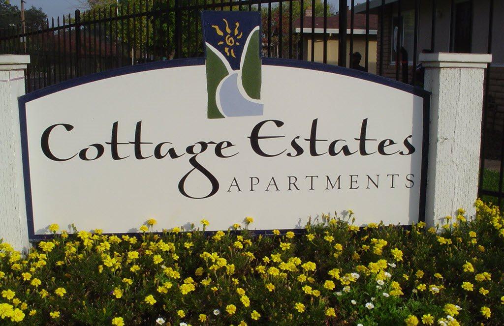 Cottage Estates sign